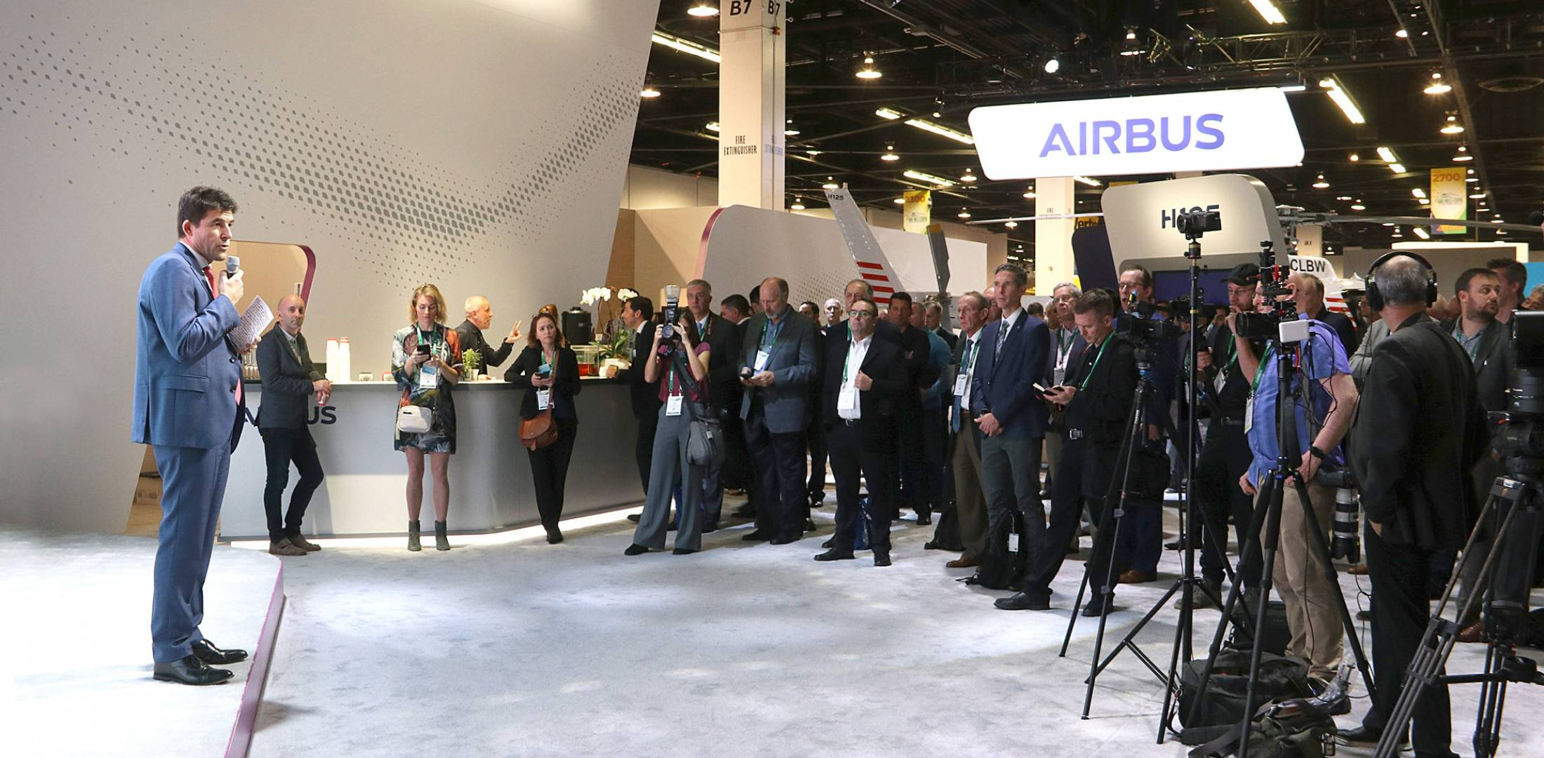 Airbus Helicopters CEO Bruno Even Photo: Barry Ambrose