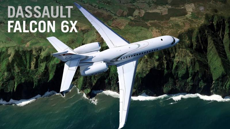 Dassault's New Falcon 6X Business Jet Rolls Out In Bordeaux