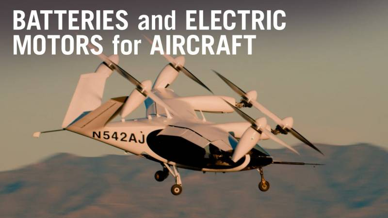 How Battery and Electric Motor Tech Is Transforming Aviation