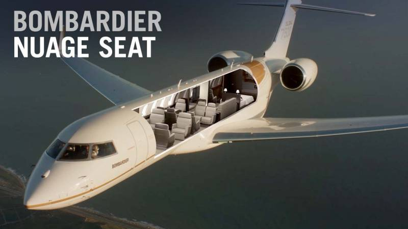 Bombardier: Zero-Gravity Comfort That's Out of This World
